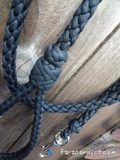 Paracordist Creations LLC - The Unparalleled Paracord Dog Leash, $59.95 (http://www.paracordist.com/the-unparalleled-paracord-dog-leash/)