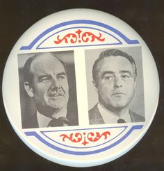 George McGovern and Sargent Shriver jugate, 1972