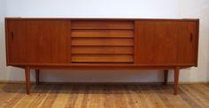 1960s Scandinavian Teak Sideboard