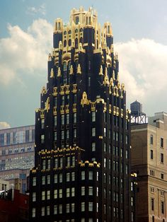 American Radiator Building, Bryant Park Hotel, New York