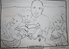 Educational Coloring Pages For Kindergarten : Tutorial on how to change your favorite picture into a coloring