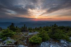 Sunset from Mount Abraham, Green Mountain National Forest, Vermont