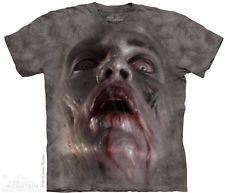 The Mountain Zombie Face Gray Mens T-Shirt S,M,L,XL,2XL,3XL