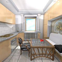 Проекты кухонного интерьера