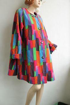 Marimekko Wool Swing Coat