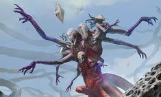 Eldrazi (MtG) the endless - very lovecraftian.
