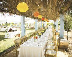 Decoración rústica para bodas #deco #boda #rustica