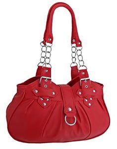 Eye Catch - Huron Faux Leather Womens Shoulder Bag Handbag: Handbags: Amazon.com