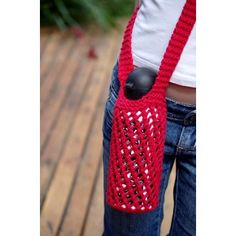 Bishi is a simple seamless knitted water bottle carrier that is perfectly practical for everyone!Knit in the round from the bottom up, there are two options for finishing the handles; either garter stitch strap or a stocking stitch strap which can be tied and easily shortened or lengthened to suit.The mesh lace is super dooper stretchy and will fit everything from a boutique beer to a nice chunky water bottle.The samples shown were knit in Lily Sugar 'n Cream Solids & Denim, shade Red, and…