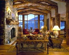I LOVE RUSTIC CEILING BEAMS!  I HAVE A HOME IN THE WOODS AND I THINK THIS WILL MAKE MY RUSTIC LIVING ROOM LOOK EVEN BETTER, AND MORE COZY.   I WISH I COULD HAVE THEM ACROSS MY CEILING SOMEDAY