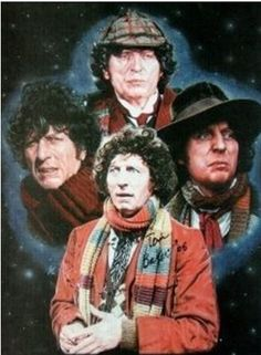 Tom Baker (4th Doctor) Doctor Who (Late 1970-s)