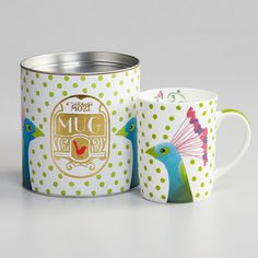 Mozi cup packaging. Sweet matching cup and can PD