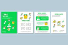 Flyer, booklet, leaflet print design with linear icons. Icon Design, Print Design, Leaflet Printing, Social Media Design, Page Layout, Republic Of The Congo, Brochure Template, Sorting, Booklet