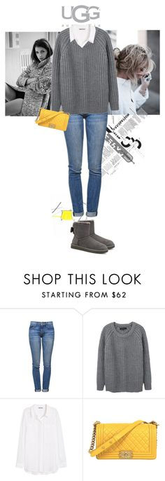 """Boot Remix with UGG : Contest Entry"" by susan-daisy on Polyvore featuring Pedro García, UGG Australia, Current/Elliott, rag & bone, H&M and Chanel"
