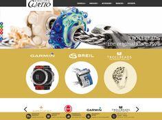 Restyling del sito Gioielleria Cuatto - http://www.gioielleriacuatto.it