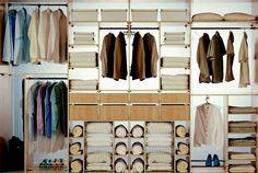 Closet with lighting Bedroom Closet Design, Master Bedroom Closet, Closet Designs, Bedroom Closets, Master Bedrooms, Condo Interior Design, Interior Decorating, Custom Closets, Closet System