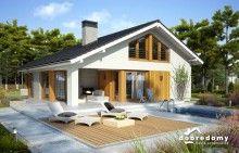 Miriam V - Dobre Domy Flak & Abramowicz Chula, My Dream Home, Future House, Ideas Para, House Plans, Construction, Outdoor Structures, Outdoor Decor, Home Decor