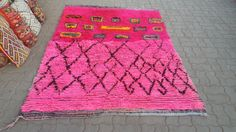 Vintage moroccan rugs tapis berber alfombras by allomorrocanrugs
