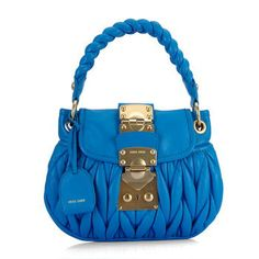 spring blue purse