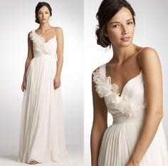Simple and pretty. But is it enough for a wedding dress...?