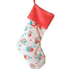 """Introducing the Woodland Aubree Owl Christmas Stocking. The coordinating piece to the Woodland Aubree Owl Minky Designer blanket that started it all. This special stocking was inspired by the 1st original design of Rolani's New Minky Blanket Store Collection and through the inspiration of a Mother who welcomed her first baby girl """"Aubree"""" into the world. Hence the name """"The Woodland Aubree Owl"""". This special design is a piece I cherish the most. Working side by side with another mother who…"""