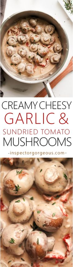 Basically the best creamy mushrooms ever!