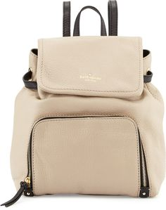 Kate Spade New York Cobble Hill Charley Backpack, Clock Tower/Black
