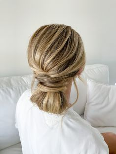 Soft Textured Low Bun | Chic Bridal Hair Look Perfect for Any Occasions - Casual & Formal Party, Weddings, Corporate Events & Special Events Creations by Kassy Wong | Perth, Western Australia | Wedding Inspirations #weddingperth #perthwedding #perthbride #perthbrides #perthweddinginspo #perthweddingideas #perthevents #perthbridetobe #perthweddings #perthcreatives #australianweddings #australianwedding #aussiewedding #australianbeauty #bridalhair #hairinspo #hairinspiration