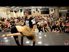 Carlos Espinosa y M Angeles [Me Emborrachare] @ Europe Bachata Masters 2016 - YouTube