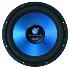"Planet Audio ACR124D Subwoofer - Set of 1 by Planet Audio. $51.44. 12"" Dual 4-OHM Voice Coil Subwoofer, Matte Blue Poly Injection Cone"