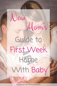 Once they discharge you, you will be on your way home and away from the professional help. Now your home from the hospital, completely exhausted, sore and a little scared knowing that this little baby is now all your responsibility.  What do you do next? Here is a New Mom's guide to first week home with baby.