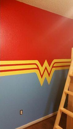 My daughter's Wonder Woman room