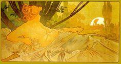 Dawn, by Alphonse Mucha