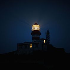 Papers.co wallpapers - nb55-night-sea-light-house-dark - http://papers.co/nb55-night-sea-light-house-dark/ - sea