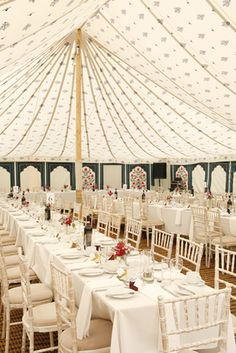 Roof lining for marquee - Beautiful roof and wall linings, tent and marquee hire for parties, weddings and events in UK, Ireland and Europe : LPM Bohemia Marquee Events, Marquee Hire, Marquee Wedding, Marquee Decoration, Reception Decorations, Event Decor, Wedding Centerpieces, Outdoor Wedding Inspiration, Wedding Ideas