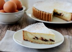 Local Food in Rome Italy and Where to Eat Them Sweet Recipes, Cake Recipes, Rome Food, Confort Food, Cheesecake Tarts, Italian Cake, Best Italian Recipes, English Food, Sweet Tarts