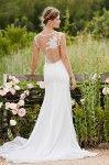 Romantic illusion wedding dress by Love Marley