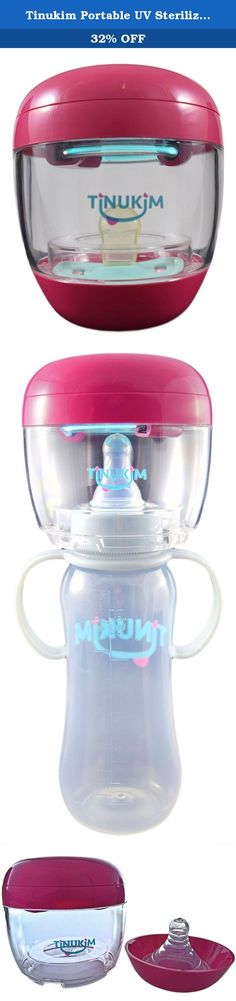 Tinukim Portable UV Sterilizer for Pacifier and Baby Bottle Nipples: Eliminates 99.9% of Bacteria and Germs (Pink). Product Description TINUKIM, The #1 recommended brand by all pediatricians for all your baby accessory needs! We pride ourselves in the comprehensive research put into all of our baby products! INTENDED USES: Traveling with your bundle of joy can be stressful at times. Forgetting a simple baby accessory can add unnecessary stress. It's for this reason Tinukim released the…
