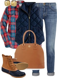 """""""OOTD"""" by classically-preppy ❤ liked on Polyvore"""
