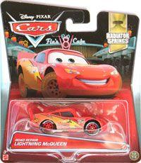 Disney Cars Radiator Springs Road Repair Lightning McQueen Diecast Car #12//14