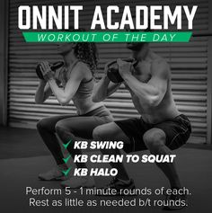 Onnit Academy Workout of The Day #25 - Kettlebell Workout