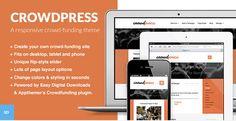 5 Best WordPress Crowdfunding Themes.  #best_wordpress_themes_2013