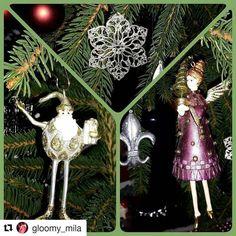 #Repost @gloomy_mila with @repostapp  Wishing everyone a wonderful Sunday  Got myself some new christmas ornaments last week in Potsdam from @wisteriasroom #potsdam #xmas #xmastree #ornament #elf #wisteriasroom