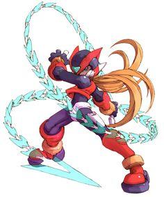 Zero - Characters Art - Mega Man Zero 2