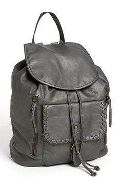 We love this Faux Leather Backpack