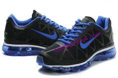 My favorite color scheme: A vibrant blue on black Nike Air Max 2011, Cheap Nike Air Max, My Favorite Color, My Favorite Things, Color Schemes, Navy Blue, Sneakers Nike, Vibrant, Men