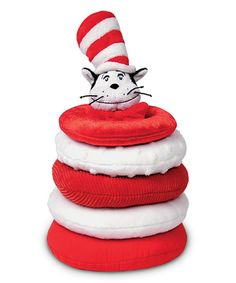 Love this Cat in the Hat Stacker Set by Dr. Seuss on #zulily! #zulilyfinds