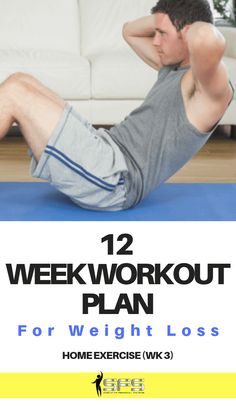 week workout plan week workout plan by slimmer fitter stronger. Drop body fat with this 12 week weight loss plan. 12 Week Workout Plan, Ab Workout Men, Weight Loss Workout Plan, Ab Workout At Home, Weight Loss Plans, At Home Workouts, Abdominal Exercises, Ab Exercises, Home Exercise Program