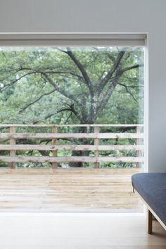 桜の季節にはウッドデッキでお花見を   施工例のご紹介 無印良品の家