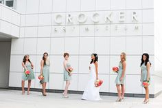 Contemporary entrance, Kelsey + Lyle 2012.  Shot by Allison Stahl Photography.